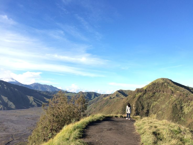 From where I stand. Bromo, Indonesia.
