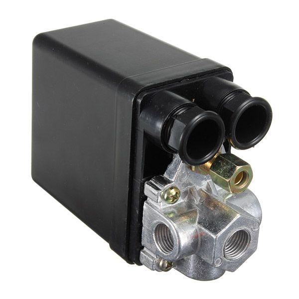 Heavy Duty Air Compressor Pressure Switch Control Valve 90-120PSI