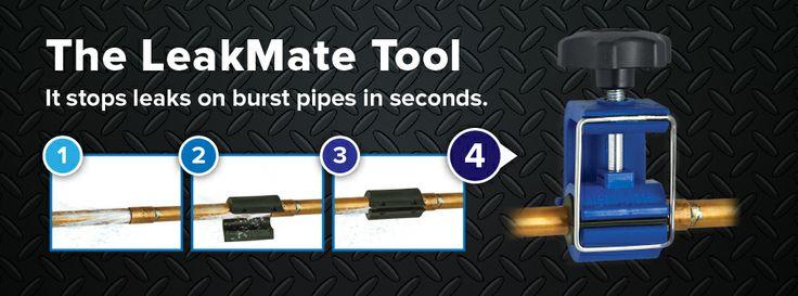 Burst-Pipe-Repair-LeakMate-03#stopawaterleak#burstpipe# #plumbers#diy# #diyhouseholdfixes# #emergencyleaks