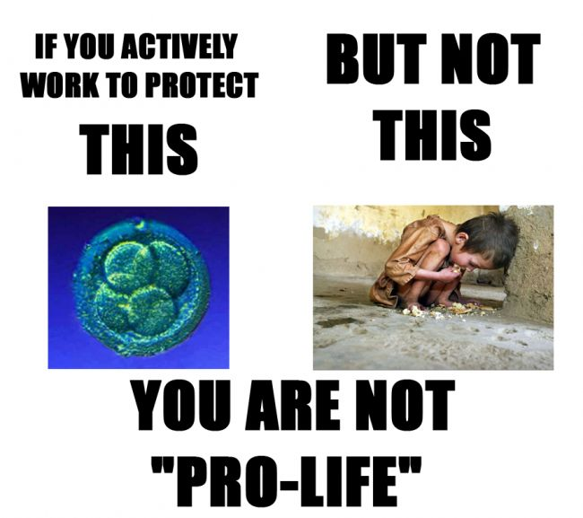 """Money that is withheld from welfare and humanitarian programs is as anti-life as is the supposed """"pro-choice"""" movement! BOTH are WRONG!!! #prolife"""