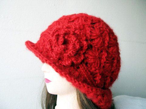PDF  Tutorial  Crochet Hat Pattern by accessoriesbynez on Etsy