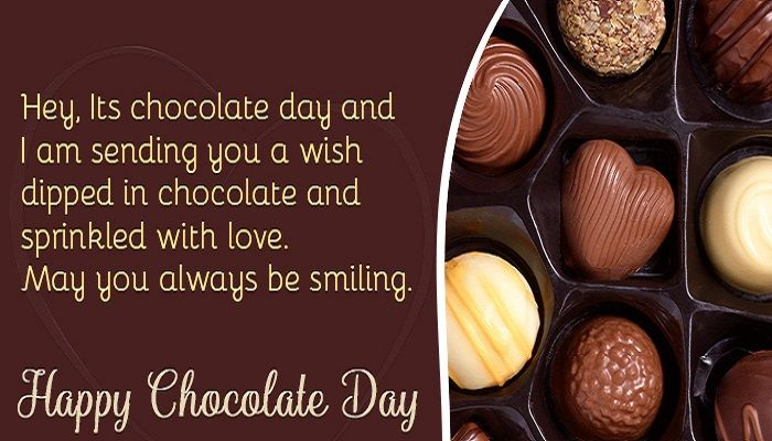 Happy Chocolate Day Quotes And Sayings In 2020 Happy Chocolate Day