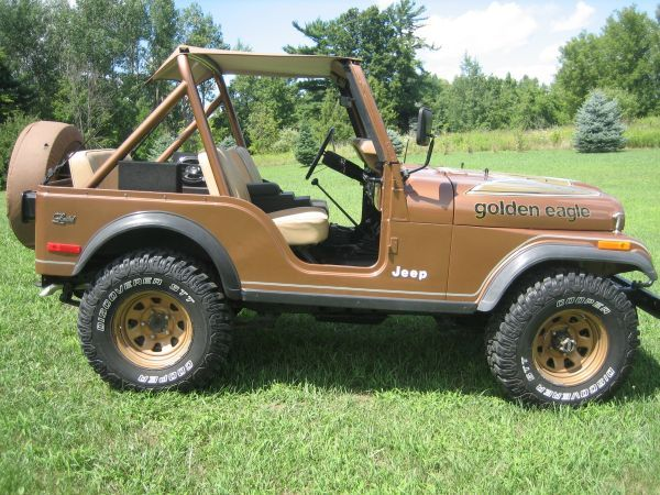 1979 Jeep CJ5 Golden Eagle -  mine was not a golden eagle and I had black interior. One I wish to own again!