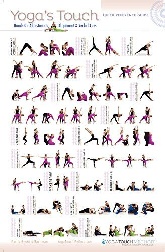 Yoga's Touch Hands On Adjustments, Alignment & Verbal Cues Quick Reference Guide: Martia Bennett Rachman: 9780996020121: Amazon.com: Books