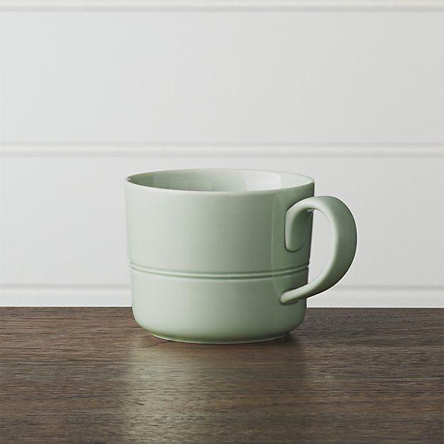 Hue Green Mug | Crate and Barrel