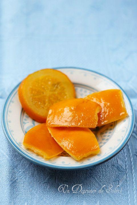 Oranges confites maison (et des idées recettes)