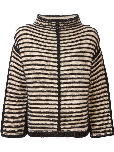 Shop Antonio Marras contrasting striped sweater in Stefania Mode from the world's best independent boutiques at farfetch.com. Shop 300 boutiques at one address.