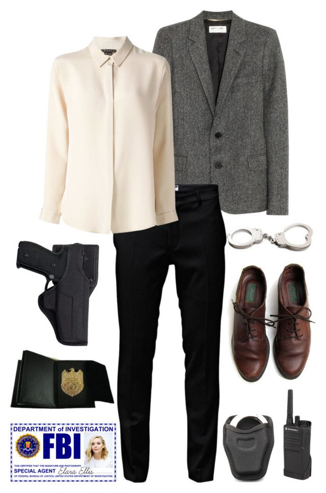 """""""Pansy Ch 14"""" by cutiestiles on Polyvore featuring Yves Saint Laurent, Jack & Jones, Theory, Motorola, Holster, POLICE and Olsen"""