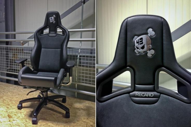 Recaro Bucket Seat Office Chair Ken Blocku0027s Racing Block Sillas