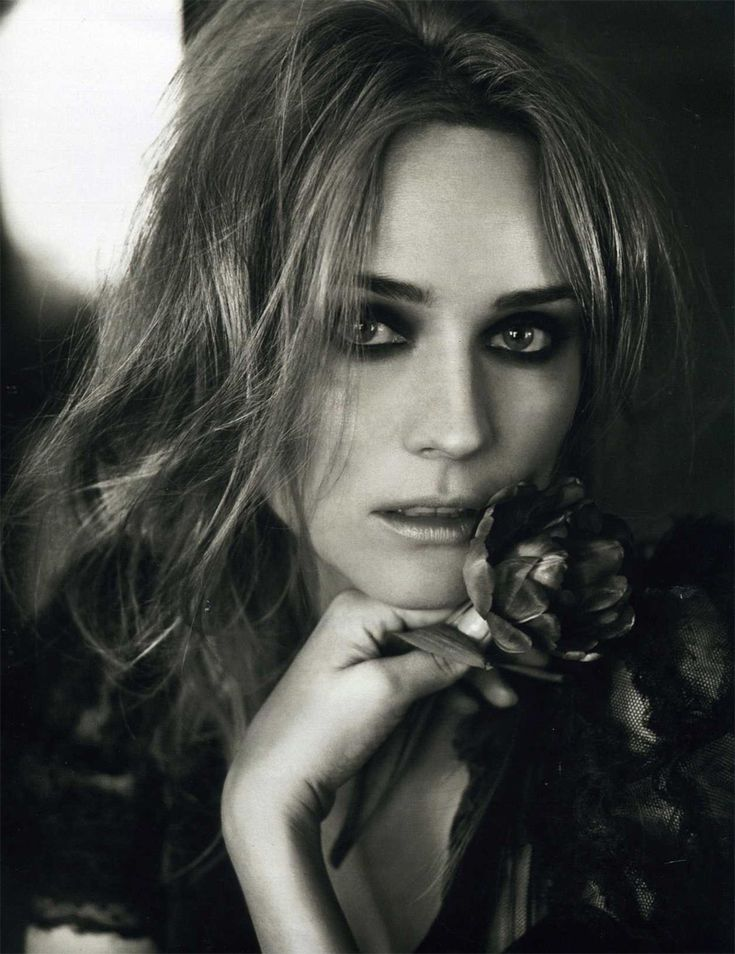 Diane Kruger by Marc Hom | Marie Claire UK April 2010
