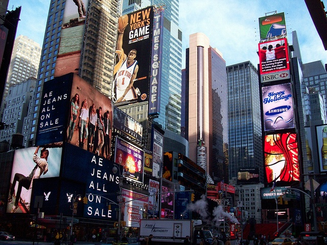 Simon Chitre; Canada - New York in Times Square. Immerse yourself in another culture: http://www.rmit.edu.au/globalpassport/educationabroad
