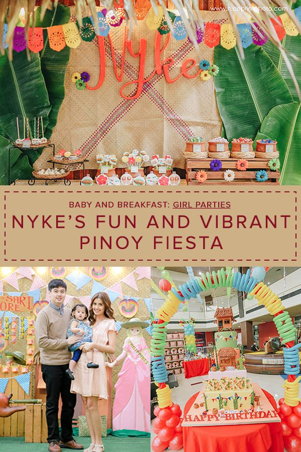 Nyke's Fun and Vibrant Pinoy Fiesta Cultural Pinterest