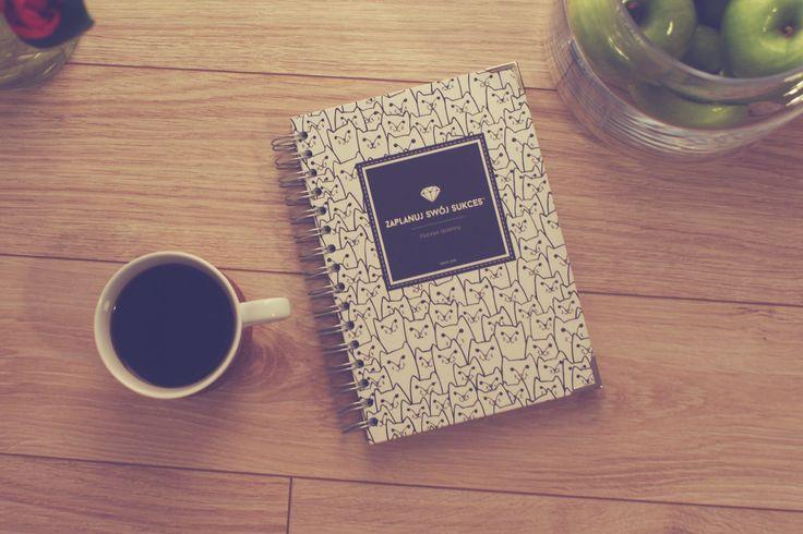 Planner dzienny | Zaplanuj Swój Sukces | White Cats Bold