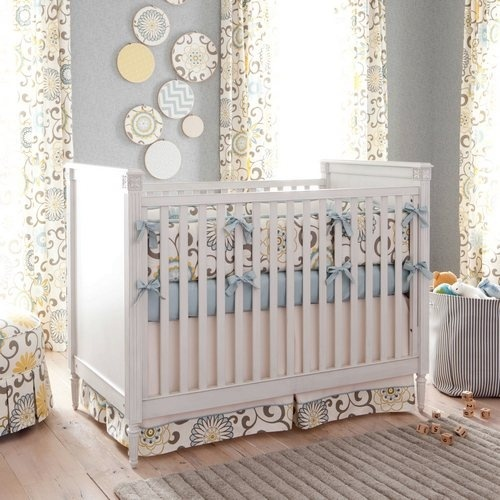 Soft And Elegant Gray And Pink Nursery: 17 Best Images About Elegant Nursery On Pinterest