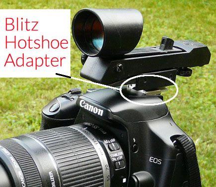 Red Dot Finder Dslr Hot Shoe Adapter