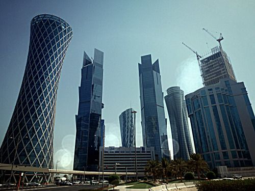 Qatar - New district in Doha