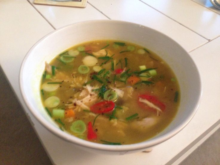 Japanese curried soup