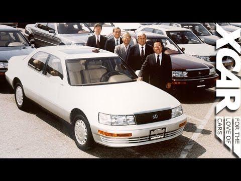 History of Lexus - XCAR