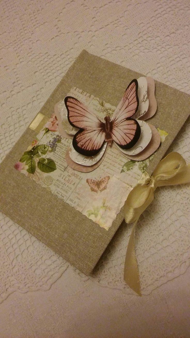 Notesz A/6-os (handmade) 📖