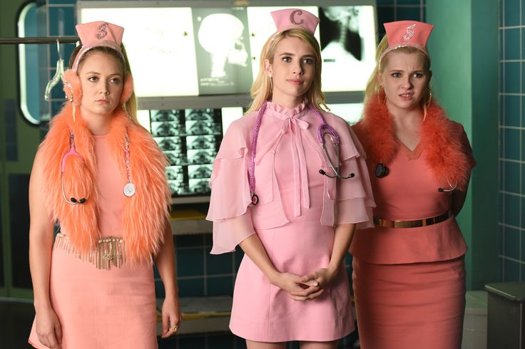 9 Spooky TV Shows to Watch Before Halloween - SCREAM QUEENS from InStyle.com