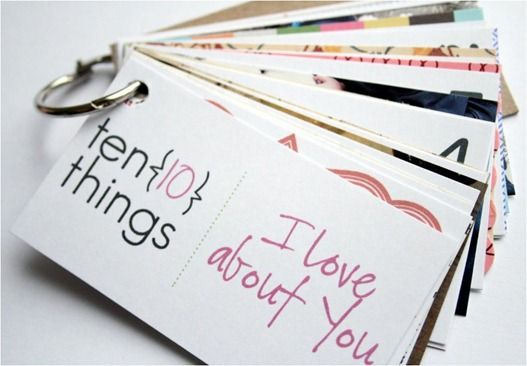 "10 Things I Love About You. Can be used for Mother's Day, Father's Day, Birthday or ""just because""."