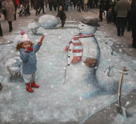 One of my favorites: Sidewalk Art, Street Art, Sidewalk Chalk, 3D Art, 3D Street, Drawing, Optical Illusion, Chalk Art, Streetart