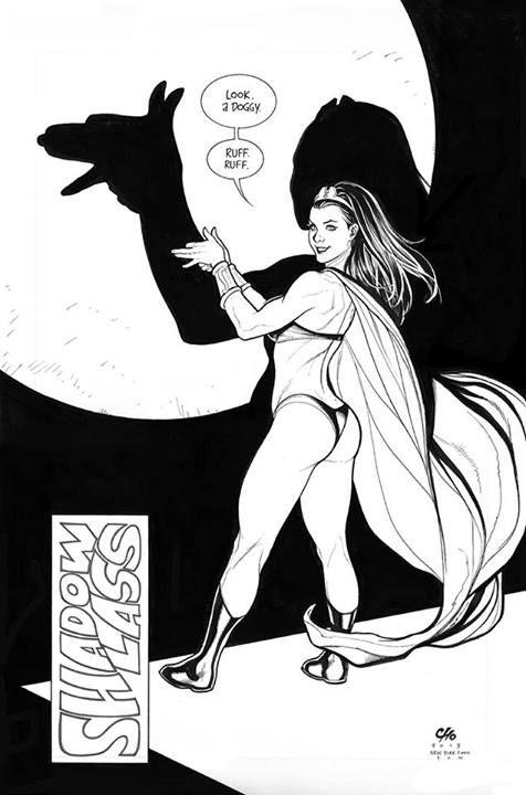 ArtVerso — Frank Cho - Legion of Super-Heroes