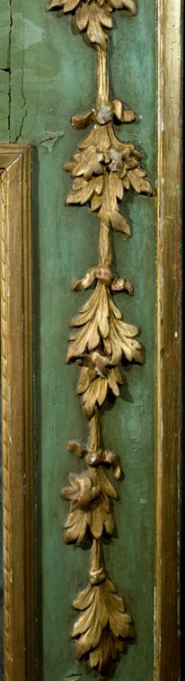 detail - 18th Century Italian Pier Mirror