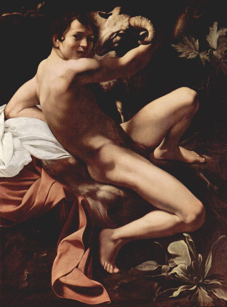 Il Caravaggio: Caravaggio, Michelangelo Merisi, Baptist Youth, Art, St. John'S, Merisi Da, Painting, John The Baptist