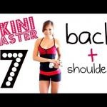 How to Get A Sexy Sculpted Back + Shoulders!