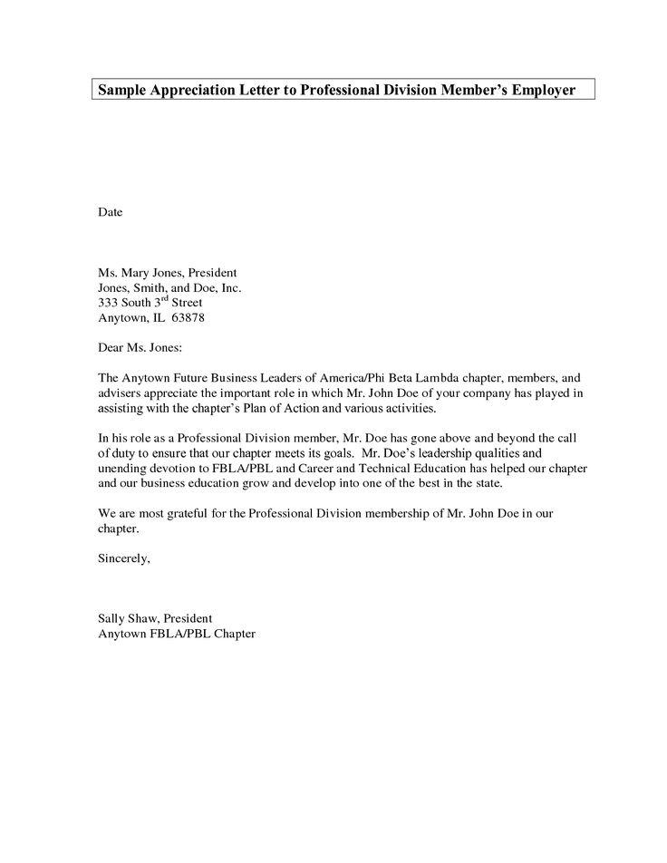 letter appreciation sample professional samples crystal williams - inter office letter
