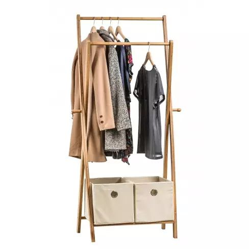 Bamboo Clothes Rack With Drawers Happy Home Pinterest