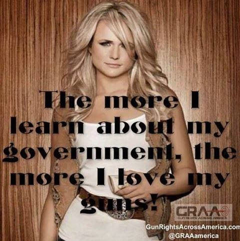 Miranda Lambert - We agree completely!