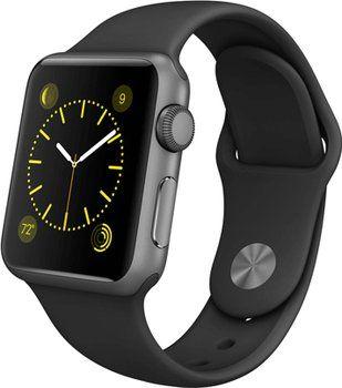 Apple Watch Sport 38mm grigio con cinturino nero Orologio iOS: confronta i prezzi e compara le offerte su idealo.it