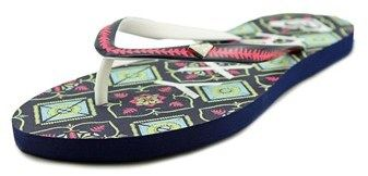Roxy Mimosa V Women Open Toe Synthetic Multi Color Flip Flop Sandal.