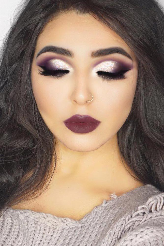 Makeup To Match Purple Dress Fashion