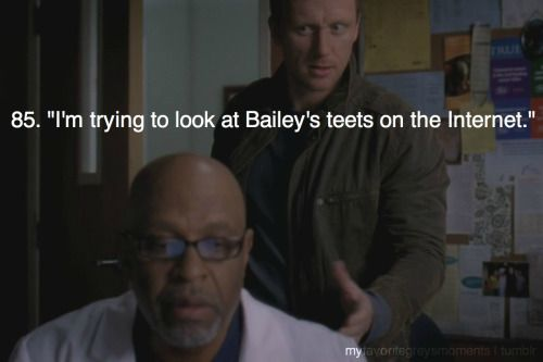 """I'm trying to look at Bailey's teets on the Internet."""