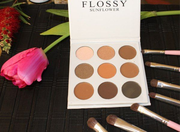 FLOSSY palette. Try on haul