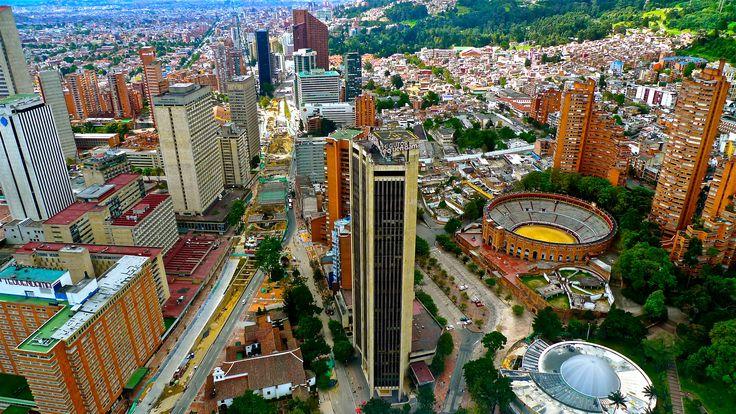 Bogota desde la Torre Colpatria, Colombia.