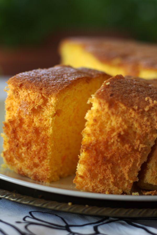 Carrot chiffon cake ovvero la fluffosa piu famosa del web
