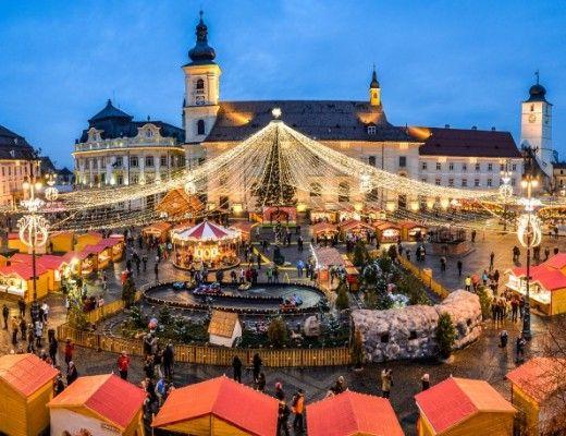 Christmas fair, Romania