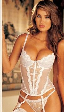 Padded Bustier Set by Shirley of Hollywood #wedding