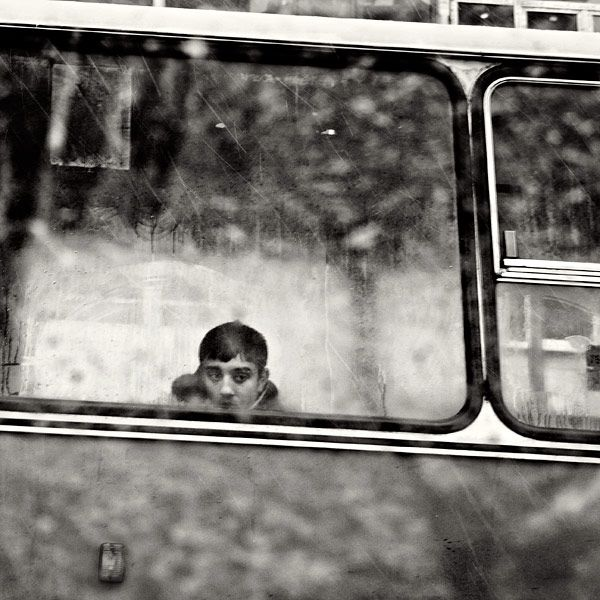 by bus, photography by Emilian Chirila