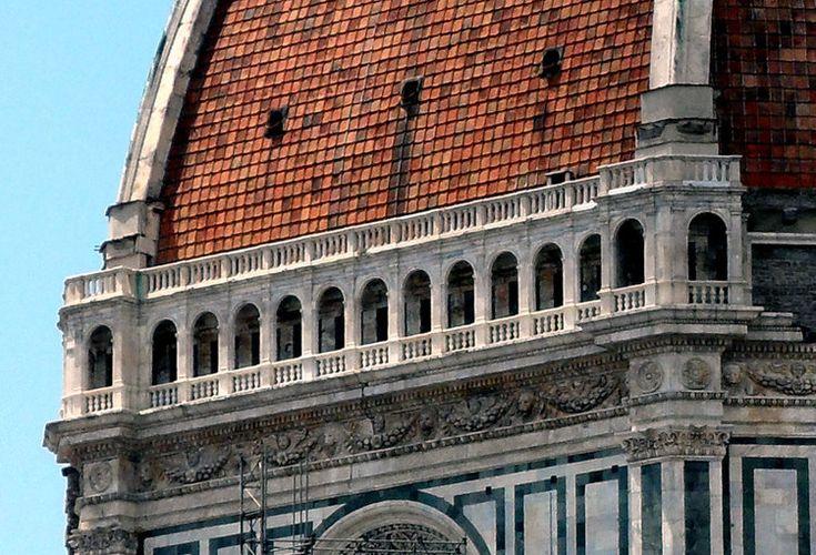 Cupola di Brunelleschi e le gabbie per grilli per Buonarroti