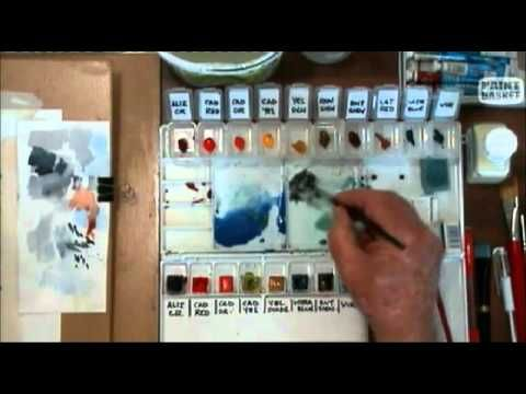 Watercolour Painting Lesson 3 - Simplifying Your Scene before Painting