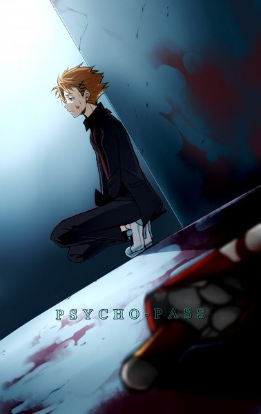 Kagari Shuusei, Psycho-Pass I LOVE HIM SO MUCH...