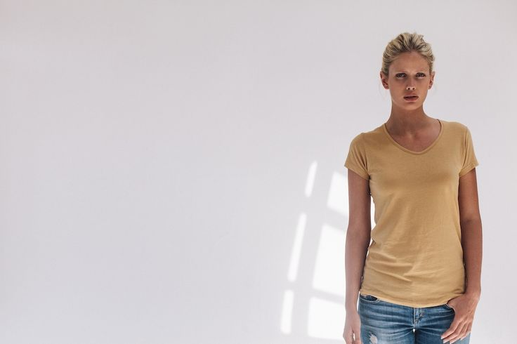Organic pima cotton basics made in a fairtrade factory in Peru, R.E.V by rêve en vert.