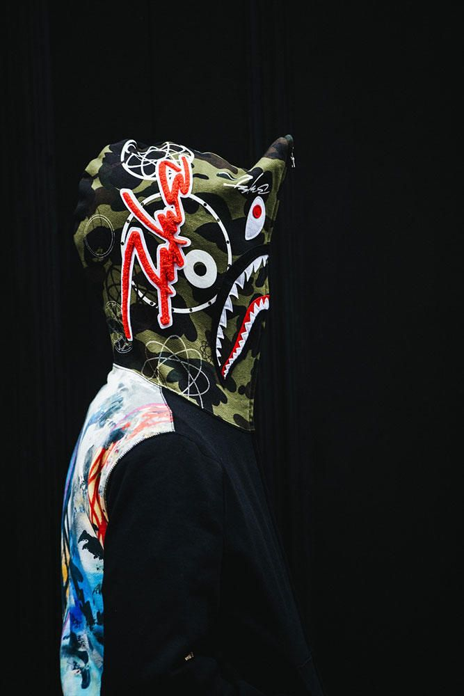 Here Is the BAPE x Futura Capsule Collection Lookbook ...