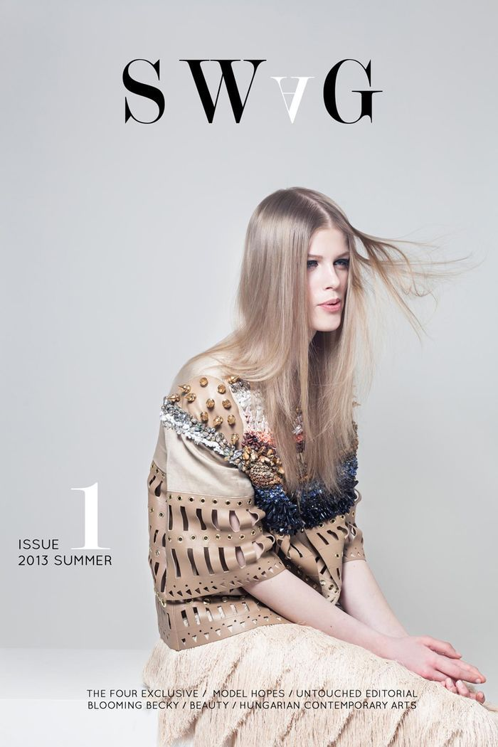 SWAG No.1 Summer 2013 Petra (Face Models) by Tamas Kovacs