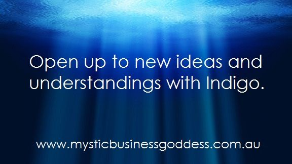 Be guided by your higherself with Indigo.